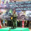 Dankodiklatad Tinjau Serbuan Vaksinasi di Rahlat YTP Raider 100/PS Simalungun