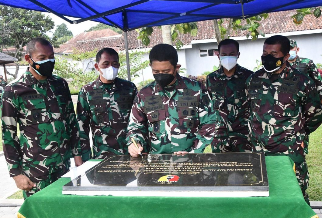 Peresmian Yayasan Yatim Piatu Baladhika Jaya, Pangdam V/Brawijaya : Jangan Mencari Keuntungan Pribadi