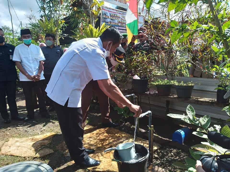 Bupati Sumbawa Barat Resmikan Pompa Hidram Tahap II Kodam IX/Udayana di Desa Rarak Ronges