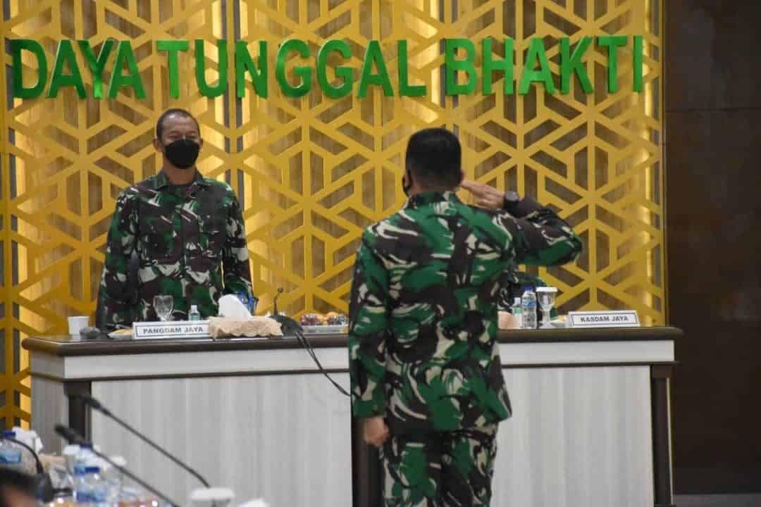 Pangdam Jaya Pimpin Kegiatan Focus Group Discussion (FGD) Renstra Kodam Jaya TA 2020 S.D 2024
